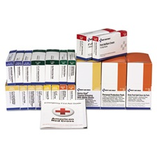 First Aid Only™ 36 Unit ANSI Class A+ with BBP Refill, 36 Pieces