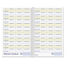 Adams® Vehicle Mileage and Expense Book, 5 1/4 x 8 1/2, 49 Forms, 63 Pages