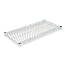 Alera® Industrial Wire Shelving Extra Wire Shelves, 36w x 18d, Silver, 2 Shelves/Carton