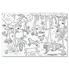 "Pacon® Learning Walls Paper, Rain Forest, 72"" x 48"""