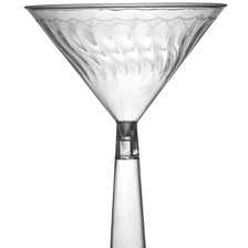 Flairware 6 oz. MARTINI GLASS - 2306-CL