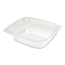 Dart® ClearPac Container Lid Combo-Pack, 5-7/8x4-7/8x1-5/16, Clear 8oz 63/PK 4 PK/CT