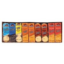 Austin® Cookies and Crackers, Assorted, 1.38 oz per Pack, 45 Packs/Box