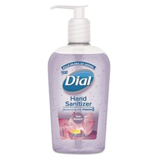 Dial® Scented Antibacterial Hand Sanitizer, Sheer Blossoms, 7.5 oz Bottle