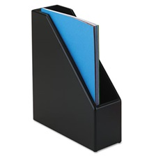 Rolodex™ Wood Tones Magazine File, 3 1/2 x 10 1/4 x 11 3/4, Black