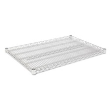 Alera® Industrial Wire Shelving Extra Wire Shelves, 36w x 24d, Silver, 2 Shelves/Carton