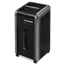 Fellowes® Powershred 225Ci 100% Jam Proof Cross-Cut Shredder, 22 Sheet Capacity