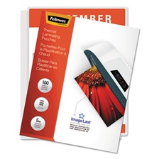 Fellowes® ImageLast Laminating Pouches with UV Protection, 5mil, 11 1/2 x 9, 100/Pack