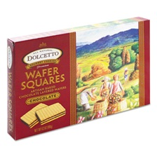 Dolcetto® Wafers, Chocolate, 6.3 oz Box