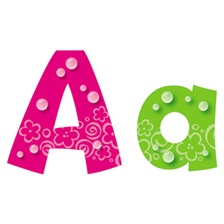 TREND® Ready Letters Playful Bubbles Combo Pack, Assorted Colors, 216 per Pack
