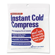 First Aid Only™ Cold Compress, 4 x 5