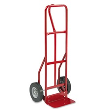 Safco® Two-Wheel Steel Hand Truck, 500lb Capacity, 18w x 47h, Red