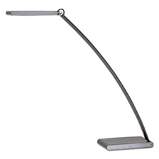 Alba™ LED TOUCH Desk Lamp with Touch Dimmer, 2w x 21h, Dark Silver