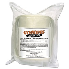 2XL Gym Wipes Advantage, 7 x 8, White, Unscented, 900/Roll, 4Roll/Carton