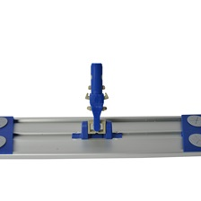 "24"" Lockable Aluminum/Plastic Mop Head Frame"