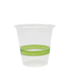 12 oz PLA cup (Karat Earth, 92mm) - To Be Discountined