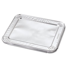 Handi-Foil of America® Steam Table Pan Foil Lid, Fits Half-Size Pan, 10 7/16 x 12 1/5