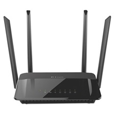 D-Link® AC1200 Wi-Fi Router, 4 Ports, 2.4GHz; 5GHz