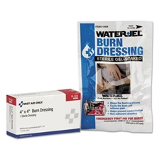 First Aid Only™ SmartCompliance Refill Burn Dressing, 4 x 4, White
