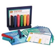 Learning Resources® Deluxe Fraction Tower Activity Set, Math Manipulatives, for Grades 1-6