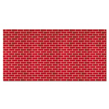 "Pacon® Fadeless Designs Bulletin Board Paper, Brick, 48"" x 50 ft."
