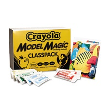 Crayola® Model Magic Modeling Compound, 1 oz each packet Assorted, 6 lbs. 13 oz