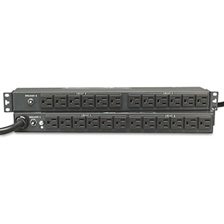 Tripp Lite PDU2430 Single Phase Basic PDU 30A 120V 1U RM 24 Outlet 5-15R