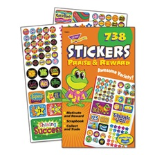 TREND® Sticker Assortment Pack, Praise/Reward, 738 Stickers/Pad