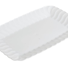 "Flairware 5""x7"" SNACK TRAY - 257-WH"