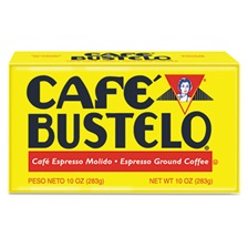 Café Bustelo Coffee, Espresso, 10 oz Brick Pack, 24/Carton