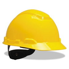 3M™ H-700 Series Hard Hat with 4 Point Ratchet Suspension, Yellow