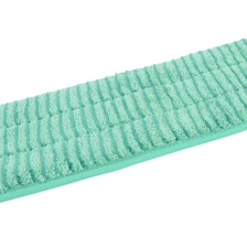"24"" Microfiber Scrubbing Looped Wet Mop Pad Green"