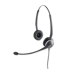 Jabra GN2125 Binaural Over-the-Head Telephone Headset w/Noise Canceling Mic