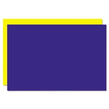 Eco Brites Too Cool Foam Board, 20x30, Blue/Yellow, 5/Carton