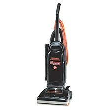 "Hoover® Commercial WindTunnel Bagged Upright Vacuum, 13"" Cleaning Path"