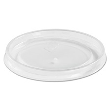 Chinet® High Heat Vented Plastic Lids, Fits All Sizes: 6-16 oz, Translucent, 50/Bag