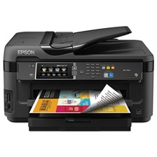 Epson® WorkForce 7610 Wireless All-in-One Inkjet Printer, Copy/Fax/Print/Scan