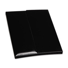 Blueline® i-Pal Notes, iPad Case/Easel/Notepad Holder, Classic, Black
