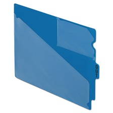 "Pendaflex® End Tab Poly Out Guides, Center ""OUT"" Tab, Letter, Blue, 50/Box"