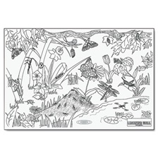 "Pacon® Learning Walls Paper, Insects, 72"" x 48"""