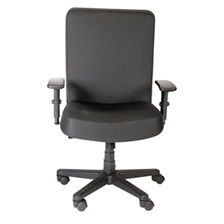 Alera Plus™ XL Series Big & Tall High-Back Task Chair, Black