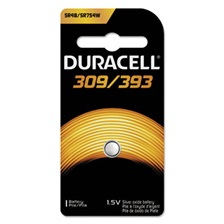 Duracell® Button Cell Silver Oxide, 309/395