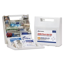 First Aid Only™ ANSI Class A+ First Aid Kit for 50 People, 183 Pieces