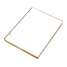 Wilson Jones® Ledger Sheets for Corporation and Minute Book, White, 11 x 8-1/2, 100 Sheets