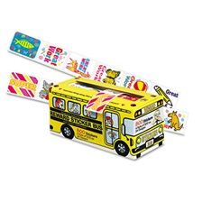 Pacon® Big School Bus Reward Stickers, Assorted Designs, 800 Stickers per Box