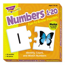 TREND® Fun to Know Puzzles, Numbers 1-20
