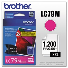 Brother LC79M Innobella Super High-Yield Ink, Magenta