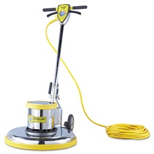 "Mercury Floor Machines PRO-175-21 Floor Machine, 1.5 HP, 175 RPM, 20"" Brush Diameter"
