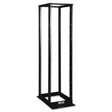Tripp Lite SR4POST 45U 4-Post Open Frame Rack with Square Holes 1000lb Capacity