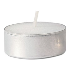 FancyHeat® Tealight Candle, 5 Hour Burn, White, 500/Carton